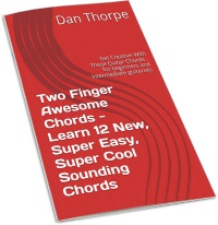 Two Finger Awesome Chords wallchart
