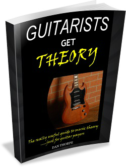 Guitarists get theory
