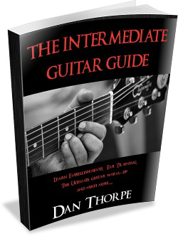 The interemediate guitar guide