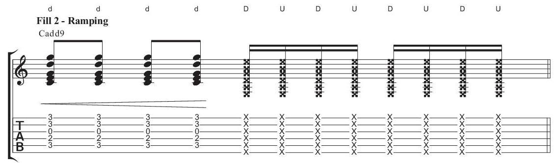 Fill 2 - Ramping