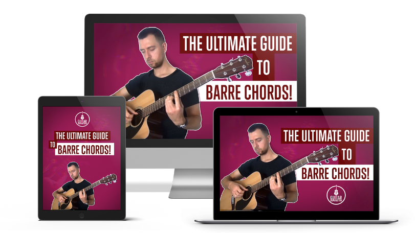 The Ultimate Guide To Barre Chords…  Out Now!
